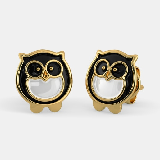 The Night Owl Earrings For Kids