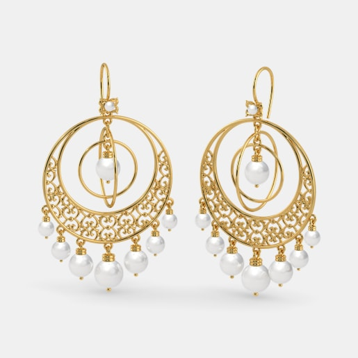 The Crescendo Chand Bali Earrings