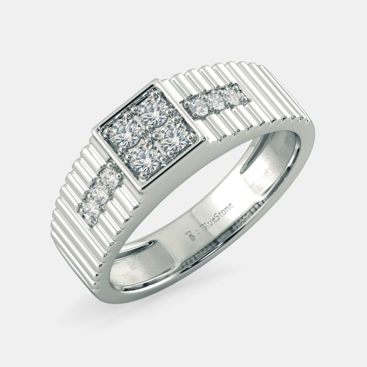 54b238453 Buy 150+ Men's Diamond Ring Designs Online in India 2019 | BlueStone.com