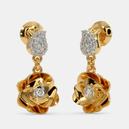 The Timeless Rose Earrings