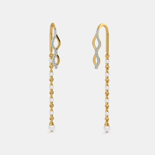 The Wave Link Earrings