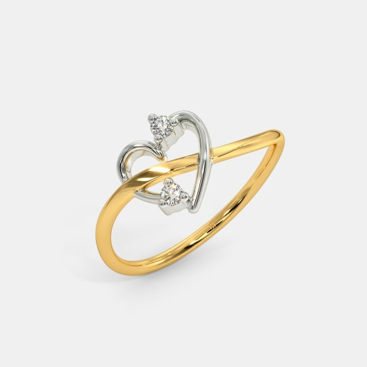 The Elegant Couplet Ring