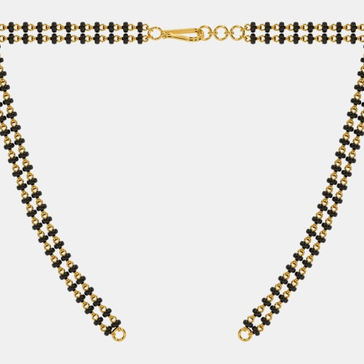 The Microbead Mangalsutra Double Line Open Chain